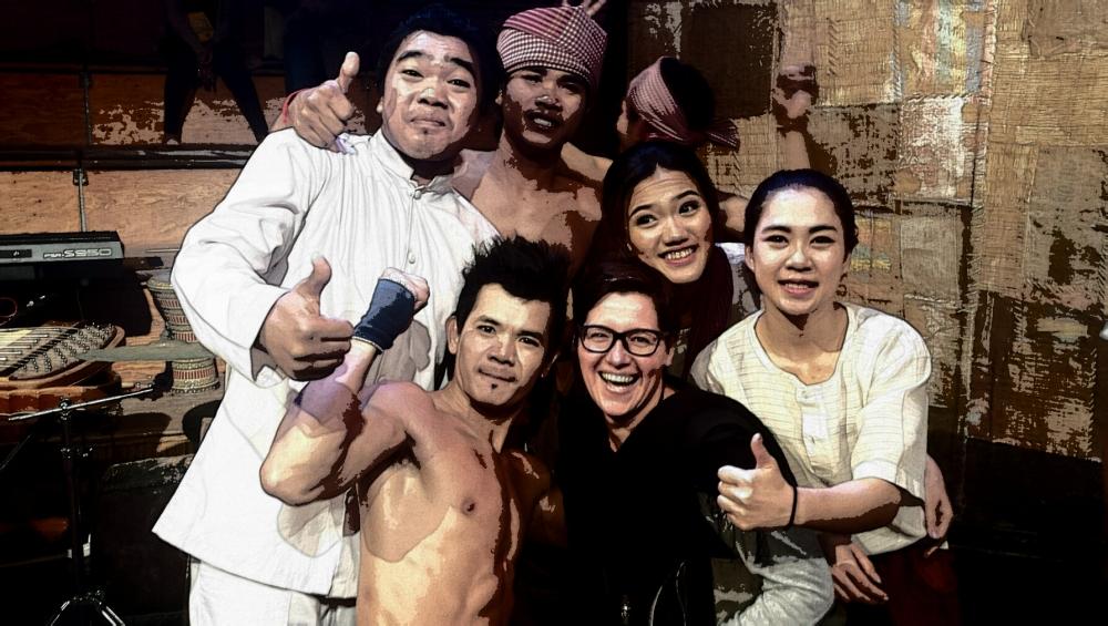 Cambodian circus Phare