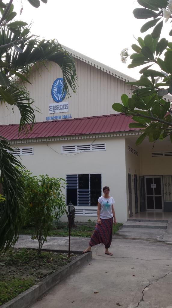 Damma meditation hall