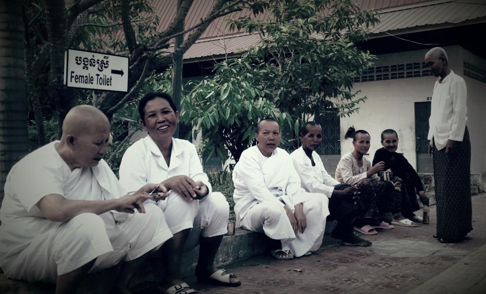 Spending 10 days among 80 Cambodian ladies