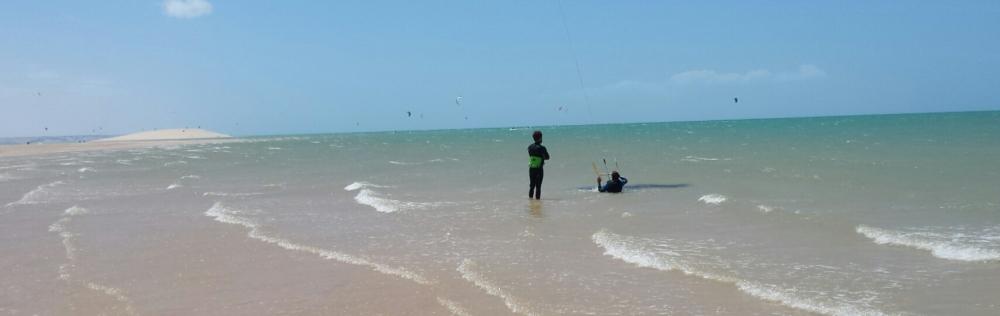 White spot dune kitesurfing course